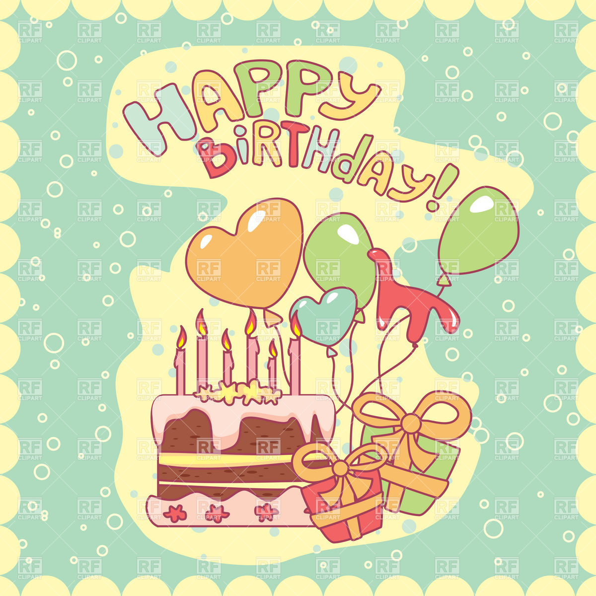 free clipart birthday greetings ; birthday-blue-greeting-card-with-cake-and-balloons-Download-Royalty-free-Vector-File-EPS-40107