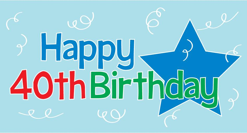 free happy birthday clipart graphics ; BirthdayHappy40th