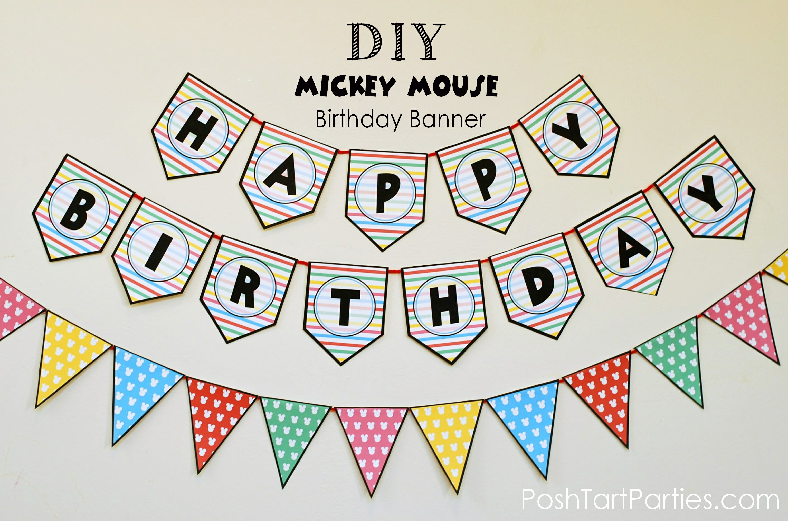 free happy birthday signs to print ; banner