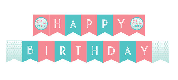 free happy birthday signs to print ; happy-birthday-banner-diy-printable-spa-party-happy-birthday-banner-instant-download-free-clip-art