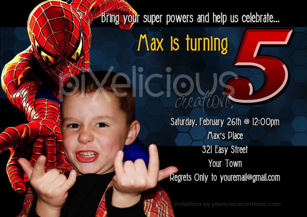free online birthday invitation card maker with photo ; spiderman-birthday-invitations-birthday-party-invitations-online-birthday-invitation-card-maker-free-1024x724