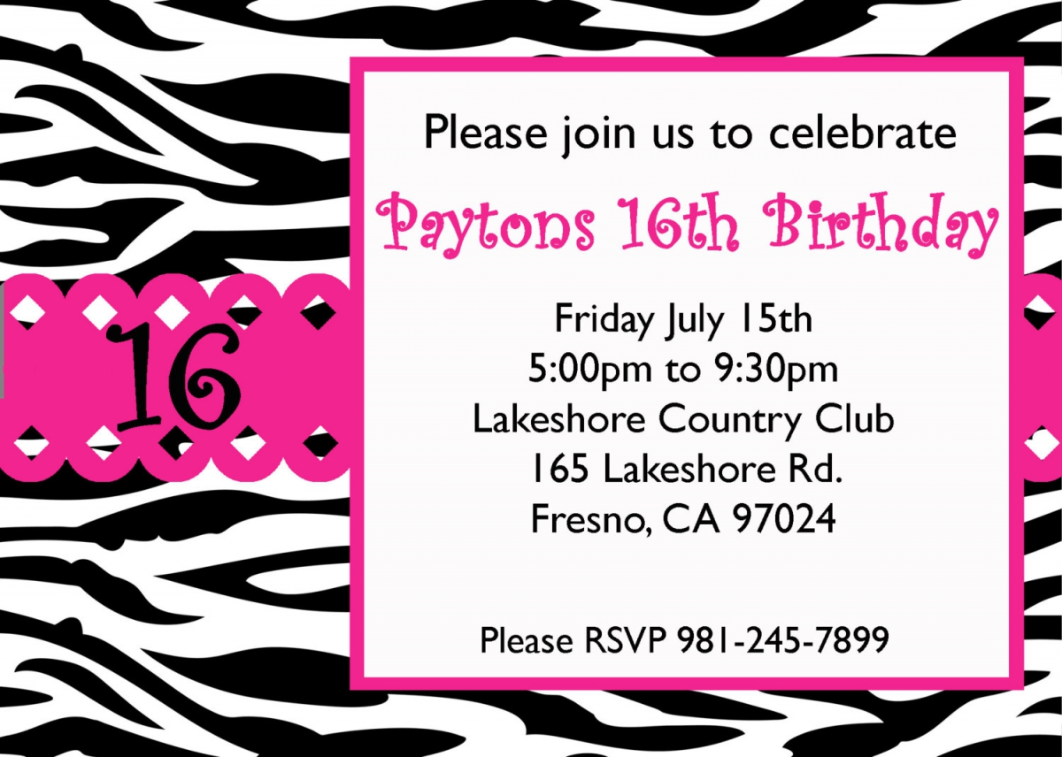 free printable 16th birthday party invitation templates ; free_printable_16th_birthday_invitation_cards