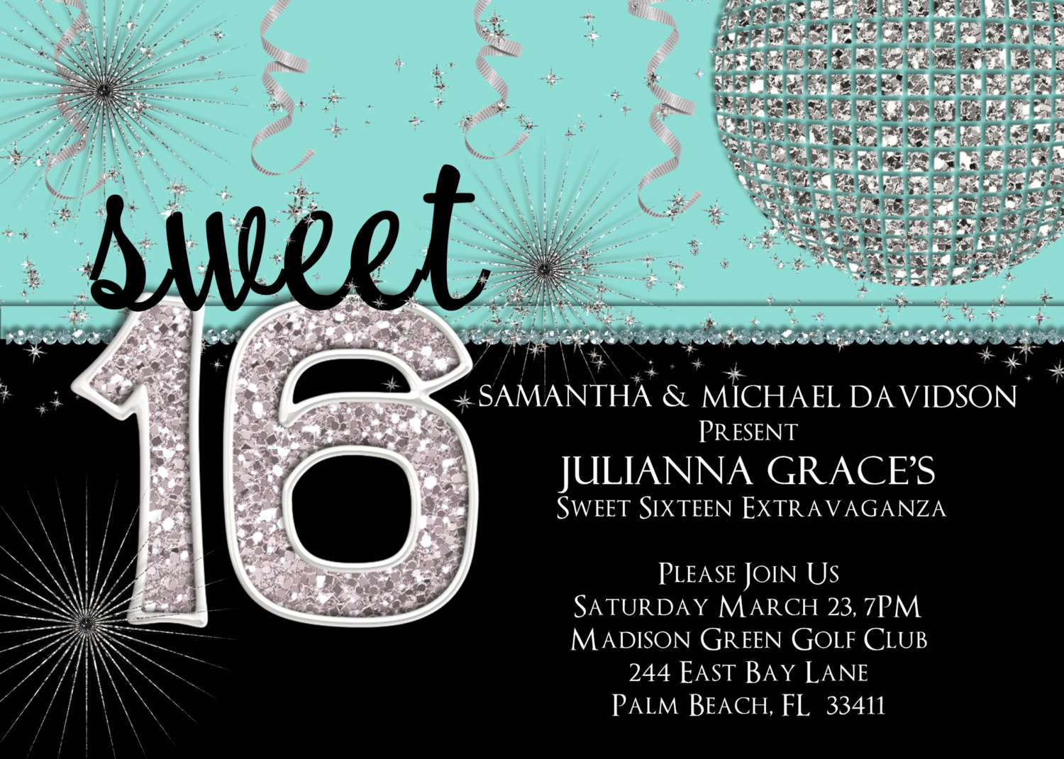free printable 16th birthday party invitation templates ; invitation-templates-16th-birthday-party-slikuwlo