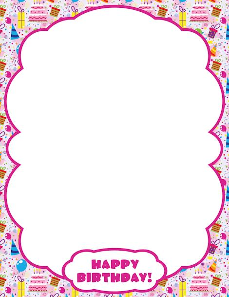 free printable birthday borders and frames ; 8ca9f417a40074ddf9e0a0e18d9f0de3