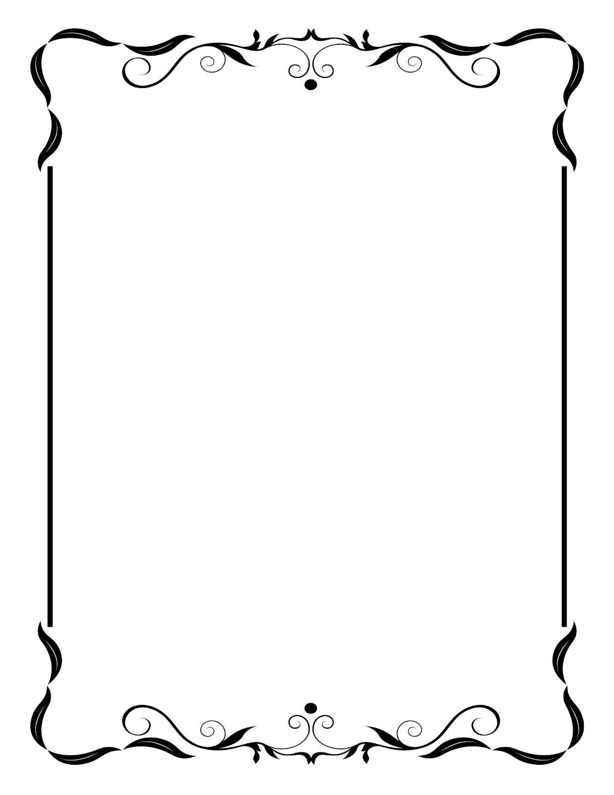 free printable birthday borders and frames ; border-frames-clipart-12