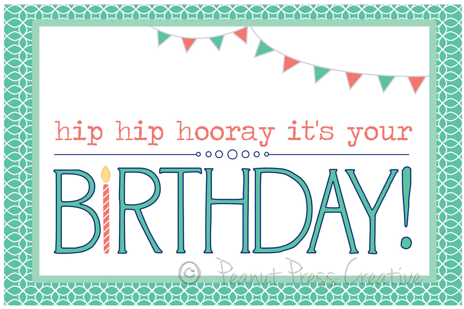 free printable photo birthday card template ; Free-Blank-Greeting-Card-Templates-For-Word-3