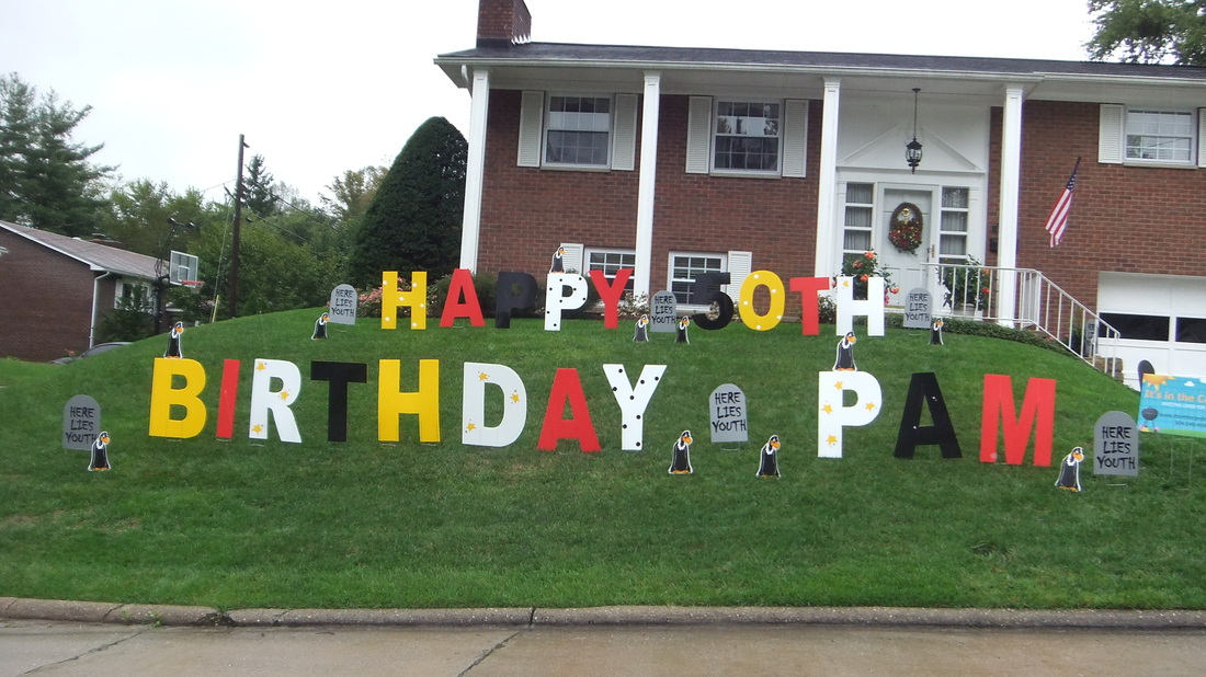 Front Yard Birthday Signs Rave Reviews