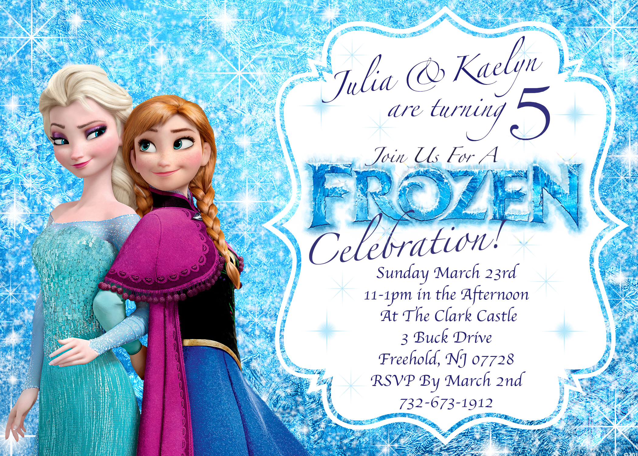 frozen themed birthday invitation cards ; Frozen-Birthday-Invitations-and-get-ideas-how-to-make-your-Birthday-invitation-with-appealing-appearance-1