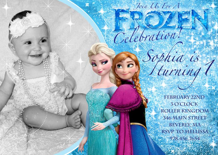 frozen themed birthday invitation cards ; awe-inspiring-frozen-birthday-invitations-printable-captivating-Birthday-invitation-for-first-introduction-to-attract-people-to-your-event-20