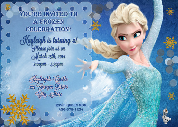 frozen themed birthday invitation wording ; 28883230ab31354baded3432416df2fa
