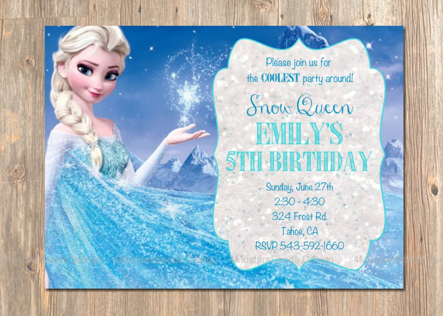 frozen themed birthday invitation wording ; Chic-Frozen-Birthday-Party-Invitations-As-Birthday-Invitation-Templates