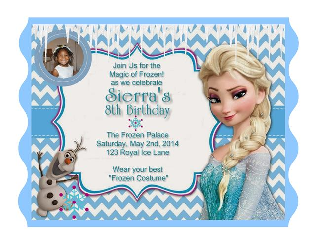frozen themed birthday invitation wording ; Elsa%2520Frozen%2520Birthday%2520Invite