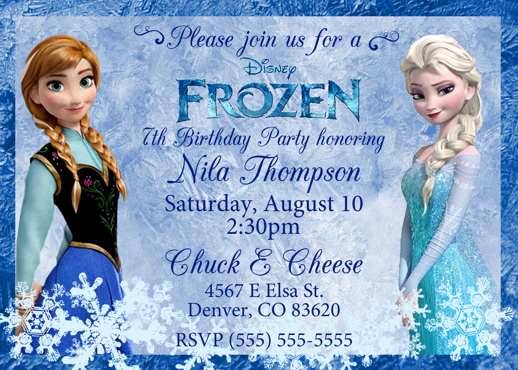 frozen themed birthday invitation wording ; Frozen-Birthday-Invitation-Wording-combined-with-your-creativity-will-make-this-looks-awesome-1