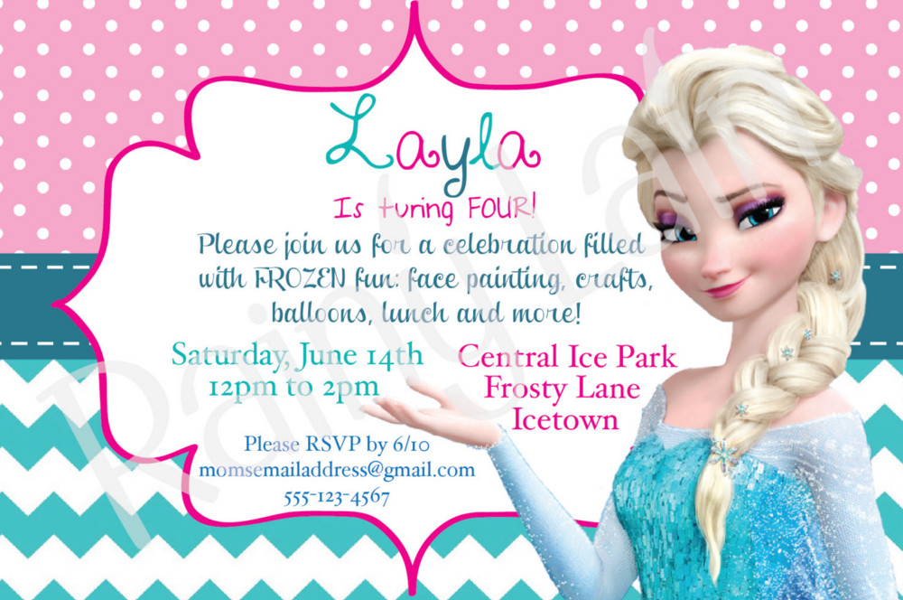 frozen themed birthday invitation wording ; frozen-birthday-party-invitation-wording