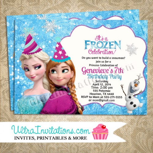 frozen themed birthday invitation wording ; frozen-invitation-wording-Free-Invitations-Birthday-Invitations-Invitations-For-Kids-16