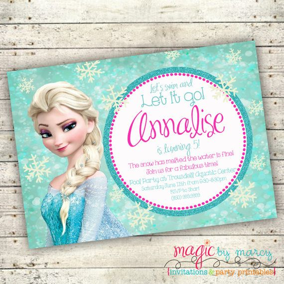 frozen themed birthday invitation wording ; frozen-invitations-ideas-For-a-Birthday-Invitations-Of-Your-Invitation-1