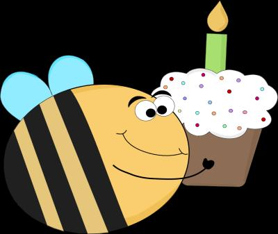 funny birthday clipart ; funny-birthday-bee