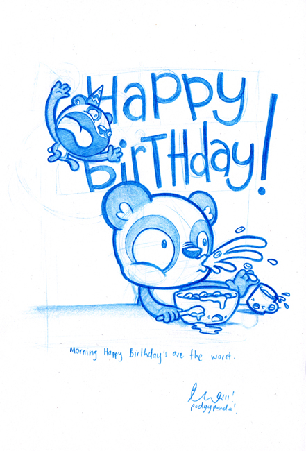 funny birthday drawings ; 22d3f15713d067d7510a73a45bf81c08