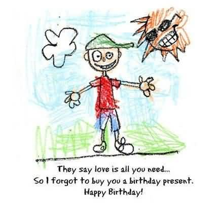 funny birthday drawings ; Awesome-Funny-Drawing-Happy-Birthday