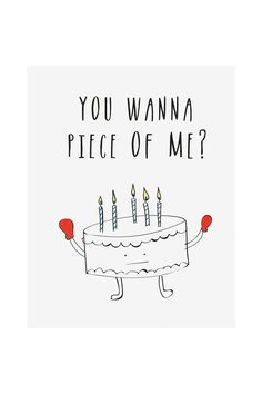 funny birthday drawings ; humorous-birthday-cards-potrait-grey-background-color-simple-design-drawing-you-wanna-piece-of-me-printable-black-texted