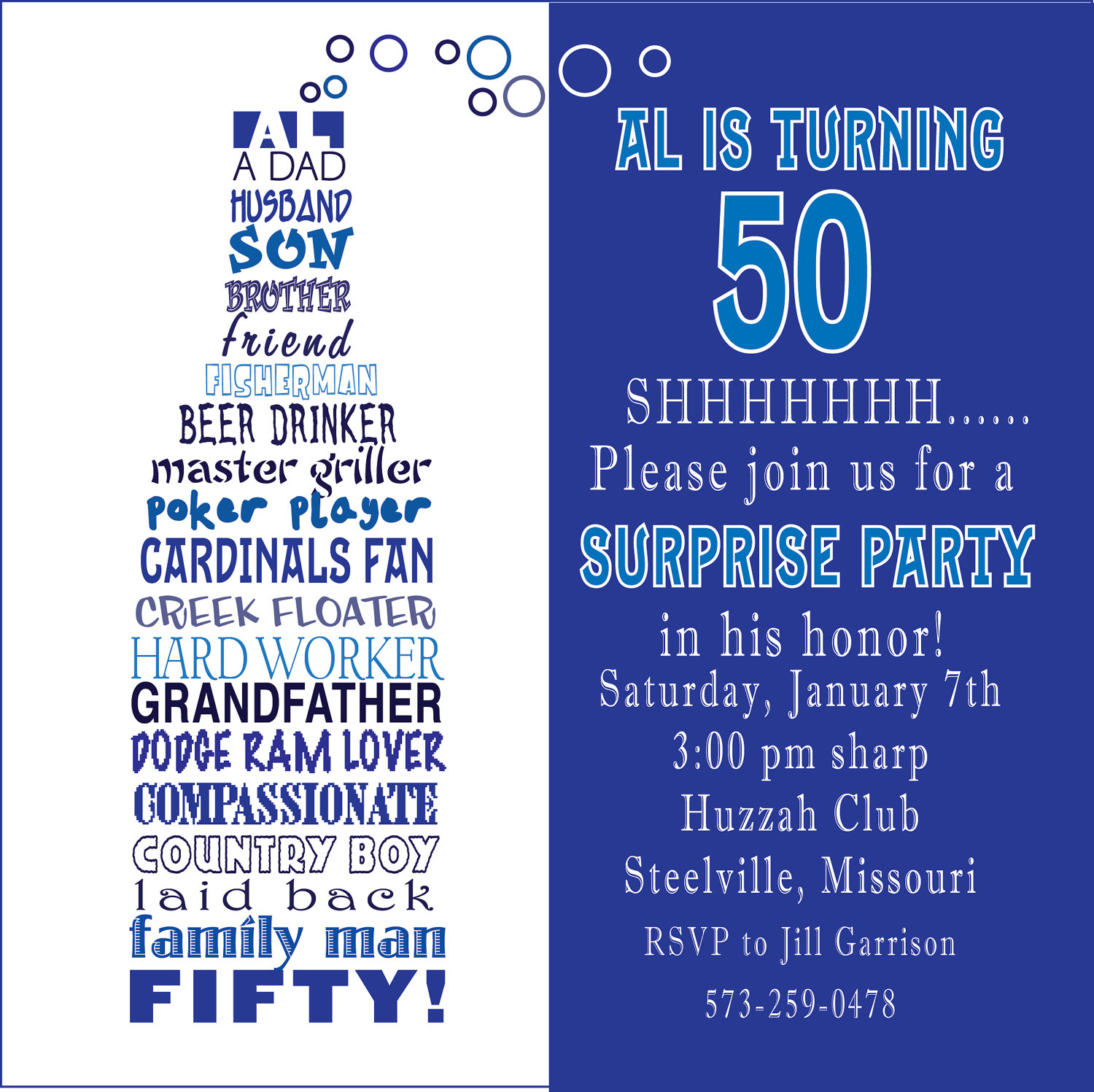 funny birthday invitation quotes ; Fiftieth-Birthday-Invitation-Wording-combined-with-your-creativity-will-make-this-looks-awesome-1