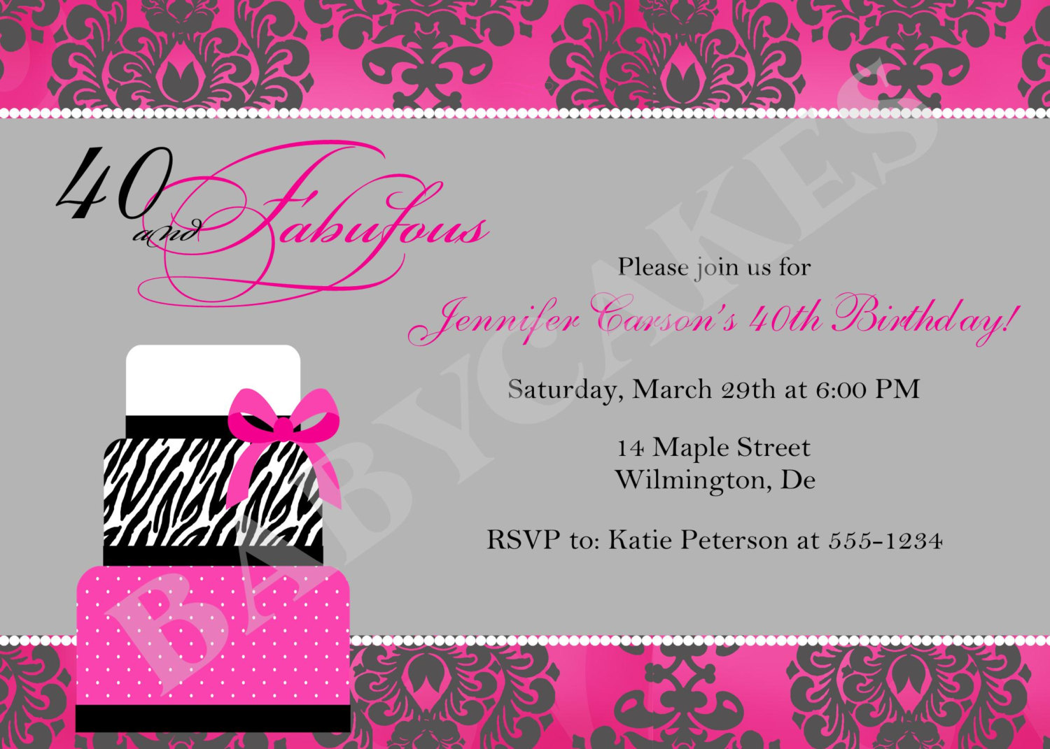 funny birthday invitation quotes ; lovely_funny_40th_birthday_invitations_for_women_concerning_unique_6