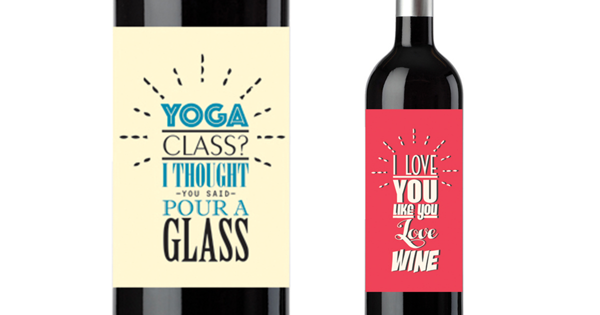 funny birthday wine labels ; funny-wine-bottle-labels-cellarwraps-fb