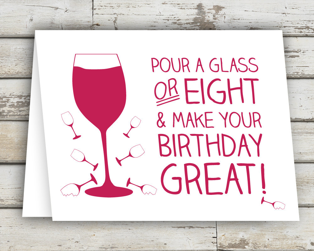 funny birthday wine labels ; il_fullxfull
