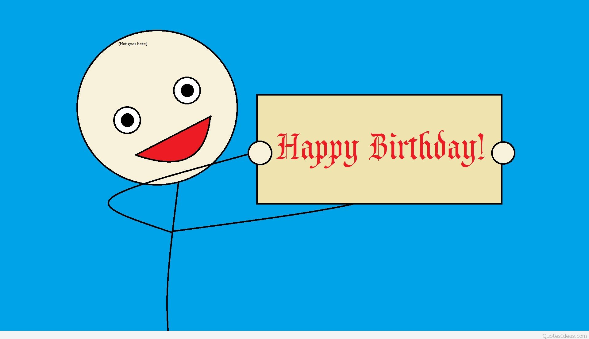 funny happy birthday drawings ; cool-happy-birthday-cards-funny-card-birthdays-greetings-simple-text-red-letters-blue-background-draw-boy-smile-horizontal-rectangle
