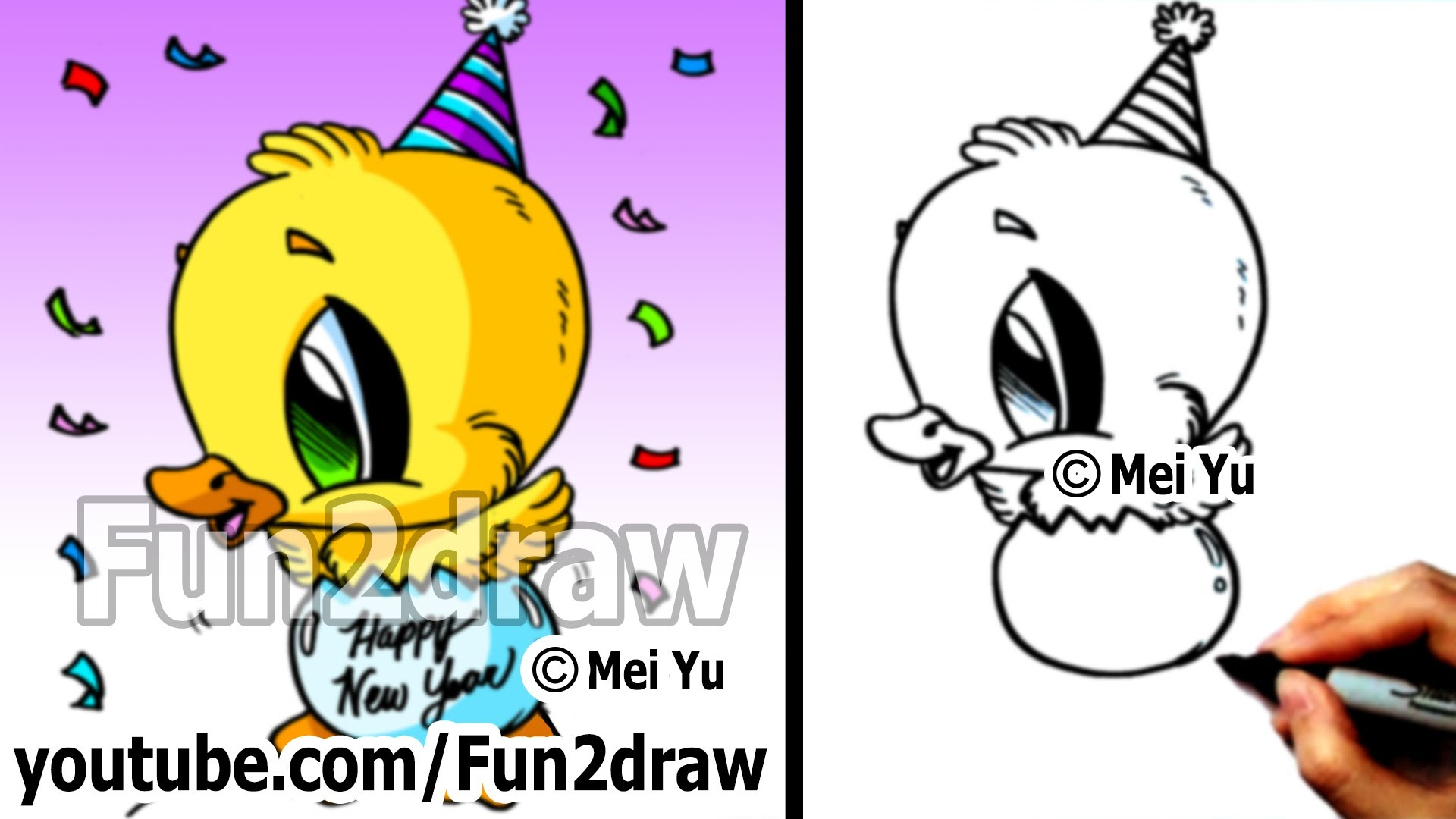 funny happy birthday drawings ; maxresdefault