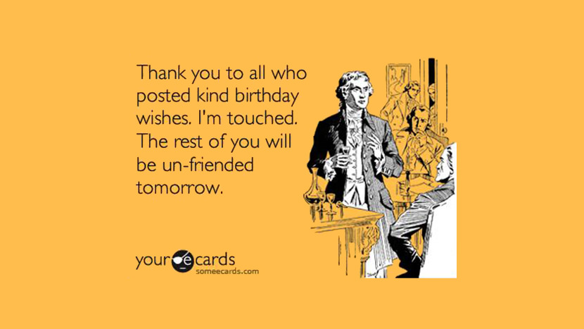 funny thank you message for birthday wishes on facebook ; 33-funny-happy-birthday-quotes-and-wishes-for-facebook-funny-facebook-birthday-wishes-1