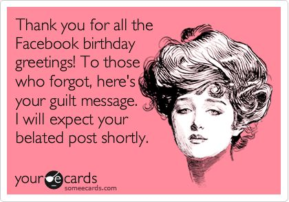 funny thank you message for birthday wishes on facebook ; 51e6dd185ce4d49b7233e15abc2d1ea2