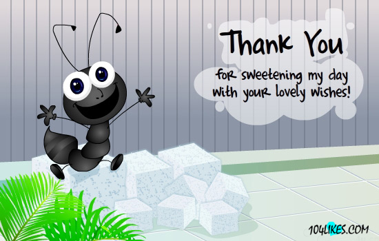 funny thank you message for birthday wishes on facebook ; thank-you09
