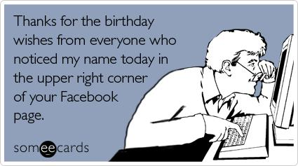 funny thank you message for birthday wishes on facebook ; thanks-for-the-birthday-wishes
