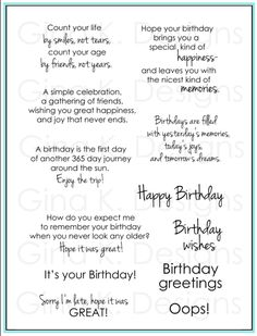funny ways to sign a birthday card ; birthday-card-sentiments-count-your-life-big-smiles-tears-first-day-of-anothers-journey-around-the-sun-great-oops-greetings-wishes