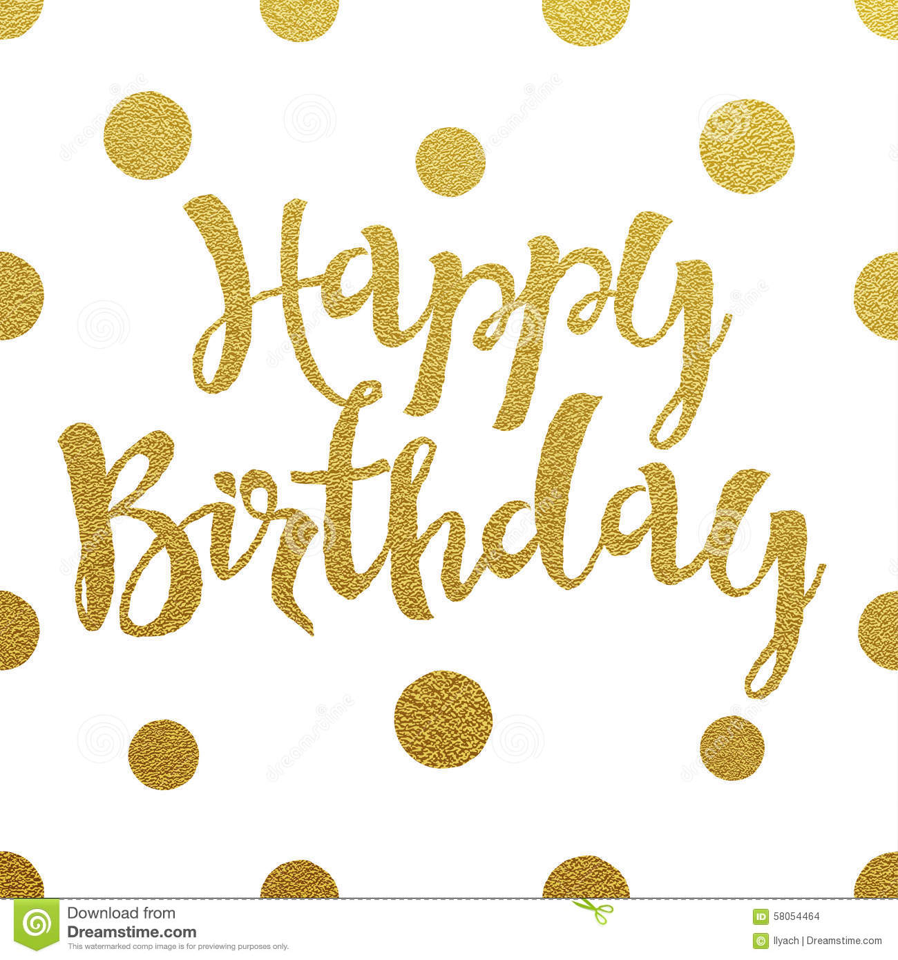 gold happy birthday sign ; gold-lettering-design-card-happy-birthday-letters-white-background-58054464