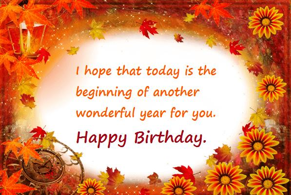 good birthday greeting messages ; meaningful-birthday-wishes-philosophical-orange-color-flower