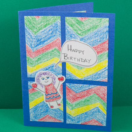 good pictures to draw on a birthday card ; Kids4PatchCrayons440