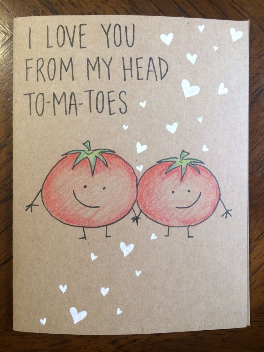 good pictures to draw on a birthday card ; i-love-you-from-my-head-tomatoes-card-lubbyspecial-pinterest-latest-good-things-to-draw-on-a-birthday-card