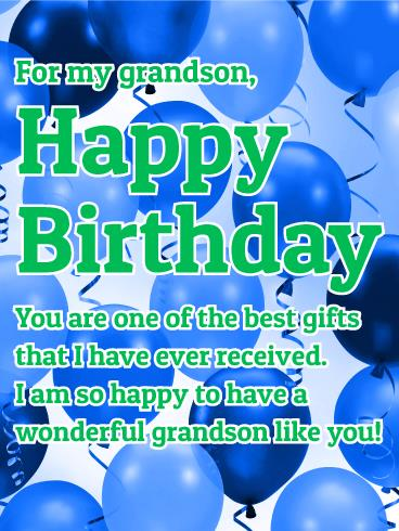 grandson birthday wishes greeting cards ; 3b466100fafc67895abf9c1425fdafd4
