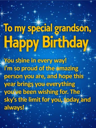 grandson birthday wishes greeting cards ; 6e0914ab94c6c520452bdfaeeff28e39