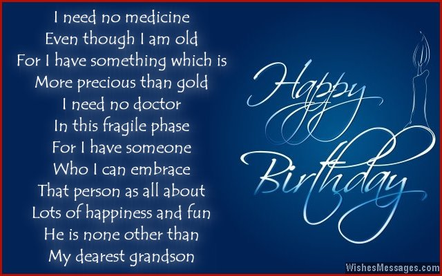 grandson birthday wishes greeting cards ; 9546ed58cadc2edaafb789fd09ff94b6