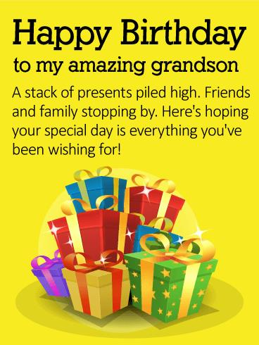 grandson birthday wishes greeting cards ; b_day_fgs09-f923c2e2ed510041e92ba884d95ec598