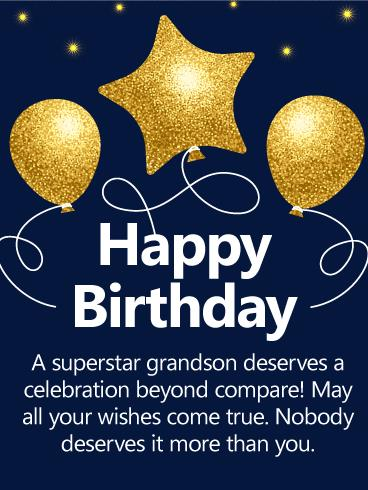 grandson birthday wishes greeting cards ; b_day_fgs21-cd679d85082958b8ed6324ee13af5b0a