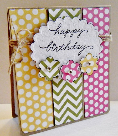 greeting cards design for birthday ; Handmade-birthday-card-ideas-for-her-11