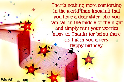 greeting message for sister birthday ; 1112-sister-birthday-wishes
