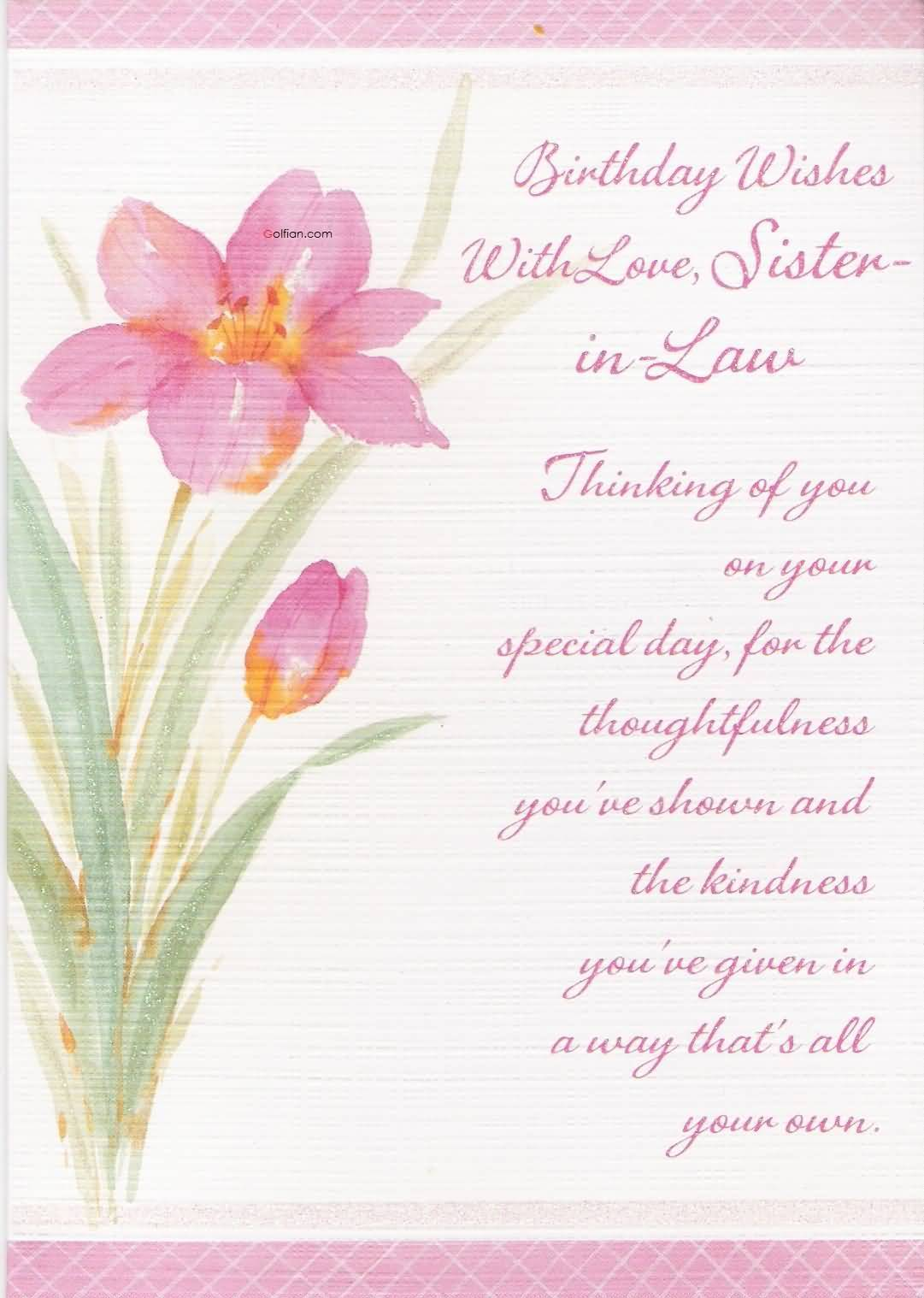 greeting message for sister birthday ; Nice-Painting-Birthday-Wishes-For-Sister-In-Law-Greetings
