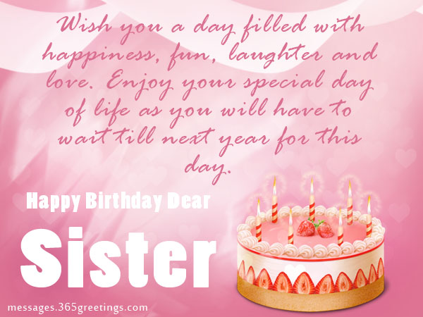 greeting message for sister birthday ; sister-birthday3r