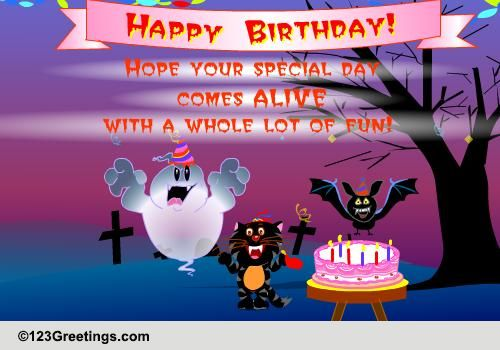 halloween birthday greeting messages ; 106468_pc