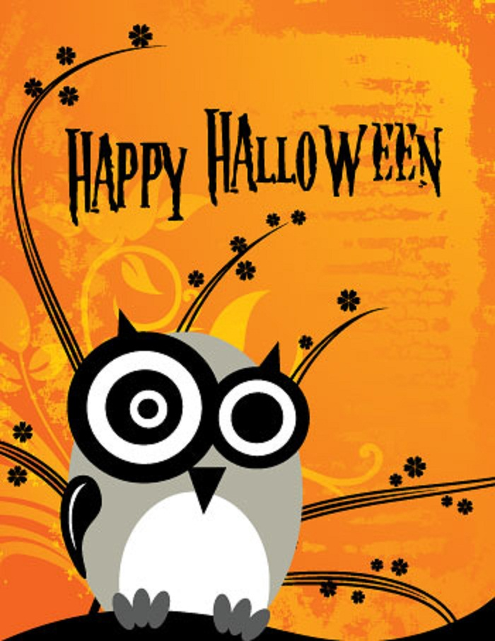 halloween birthday greeting messages ; Happy-Halloween-Owl-Greeting-Card